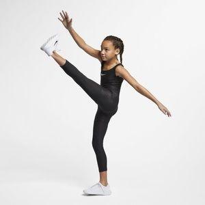 NWT $60 Nike Girl Size Medium Black Training Suit